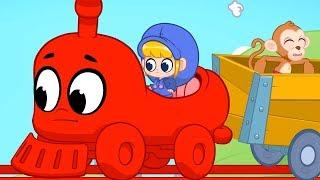 Morphle | Animal Train | Animals for Kids | Learning for Kids | Kids Videos