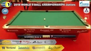 WORLD 9-BALL CHAMPIONSHIPS Juniors TV4