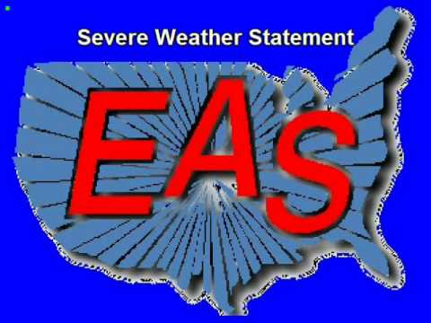 An EAS timeline of the 4/25/11 Vilonia, AR tornado