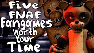 Five FNAF Fan Games Worth Your Time - TheSassJacket