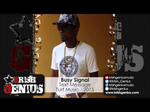 Busy Signal - Text Message - March 2015 video