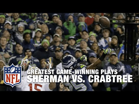 Richard Sherman vs. Michael Crabtree: The Swat Heard Around the World | 2013 NFC Championship Game