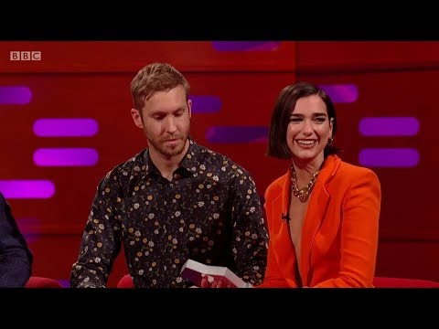 Download Lagu  Calvin Harris & Dua Lipa – One Kiss sample + Interview on The Graham Norton Show. 2018 Mp3 Free