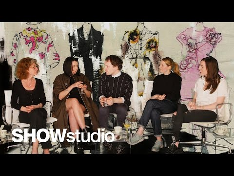 SHOWstudio: Paris Autumn Winter 2014 Round Up Panel Discussion