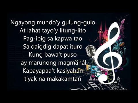 Kay Ganda Ng Ating Musika - Isang Mundo Isang Awit ( Medley ) - Minus One video