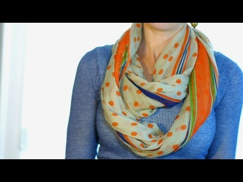 5 Easy Ways To Wear A Scarf