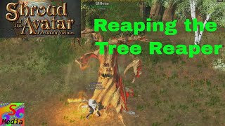 shroud of the avatar soloing the tree reaper