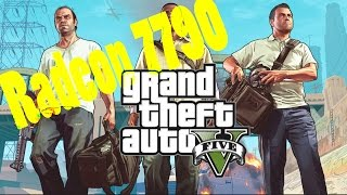 GTA5 PC on HD 7790 1GB - Very High and Normal settings