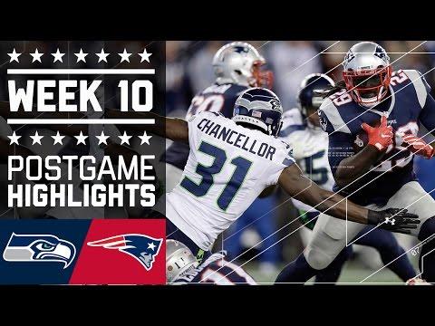 4 Seahawks Vs Patriots Nfl Week 10 Game Highlights