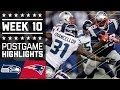 Seahawks vs. Patriots (Week 10) | Game Highlights | NFL