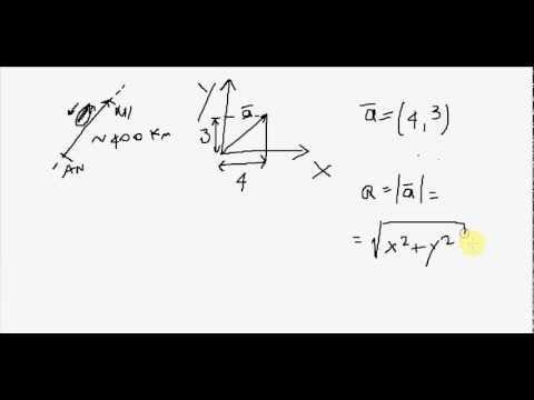 Fisica - Lezione 01 - Vettore - Tutorial di Fisica