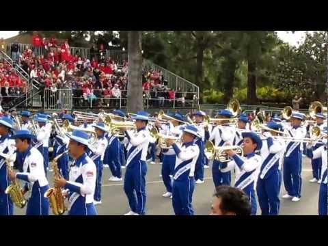 Banda de El Salvador Desfile de Las Rosas 2013 Pasadena, CA | El Salvador Band Roses Parade 2013