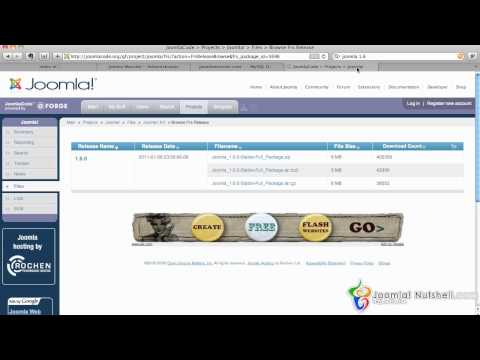 Manual Install 1 6 - Joomla Nutshell 1.6 Tutorials