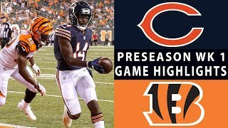 Bears vs. Bengals Highlights | NFL 2018 Preseason Week 1