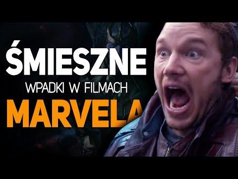 5 śmiesznych I Dziwnych Wpadek W Filmach MARVELA!