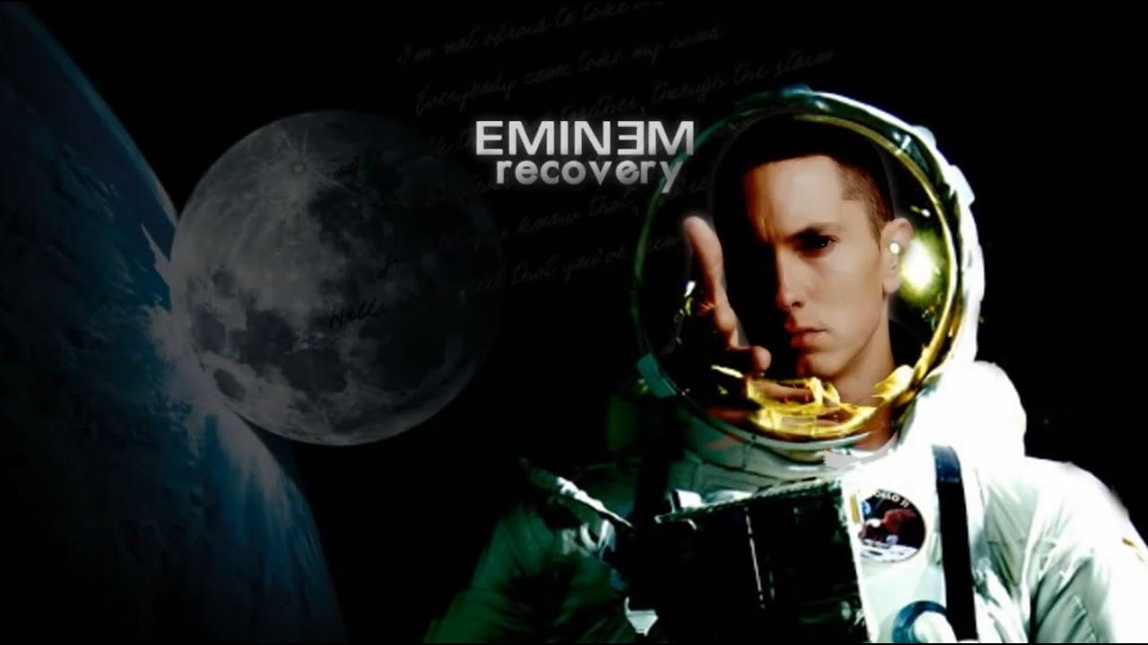 Eminem space bound album cover