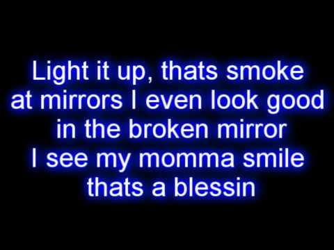 Lil Wayne Ft. Bruno Mars - Mirror Lyrics video