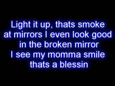 Lil Wayne Ft. Bruno Mars - Mirror Lyrics video