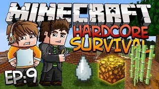 Minecraft: Hardcore Survival w/Sky & Fin, EP 9 - LOST NETHER!!!