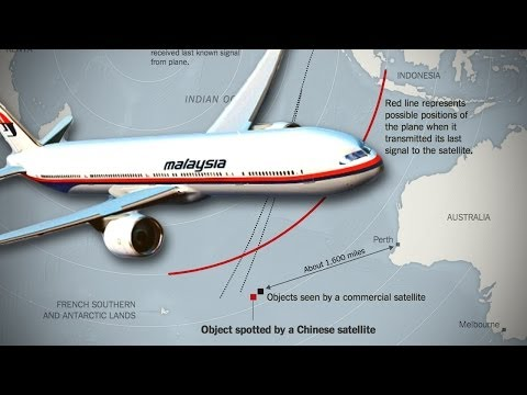 Malaysian Plane Went Down In Indian Ocean