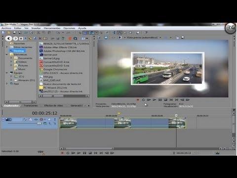 tutorial sony vegas pro 12 cámara lenta y rapida