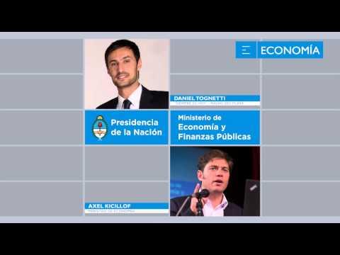 Axel Kicillof en comunicacion desde Washington con Radio del Plata