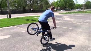 """""""Never Give Up"""" Mark Sprung Riding Flatland BMX in St Louis 2014"""