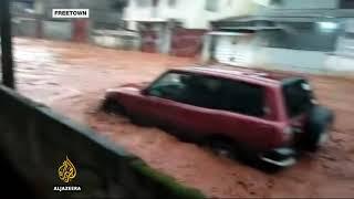 Witness describes 'disaster' in Sierra Leone's Freetown