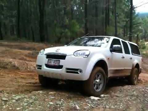 greatwall 4x4 at glasshouse