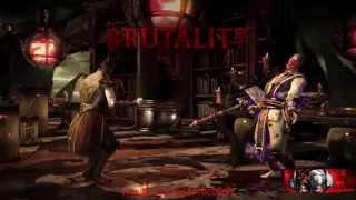 Download All Brutalities, Secret Brutalities Mortal Kombat X [HD1080p] 3Gp Mp4