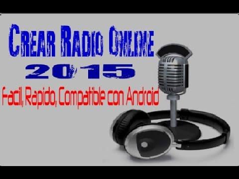 Crear Radio Online 2015 (PONERLO EN TU BLOG, LOCUTAR EN VIVO)