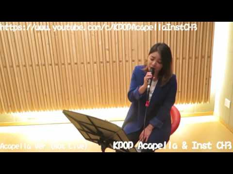 [Acapella] Ailee (에일리) - I Will Go To You Like The First Snow (첫눈처럼 너에게 가겠다)