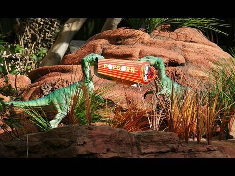 Jurassic Park River Adventure (HD POV) Universal Studios Hollywood Video