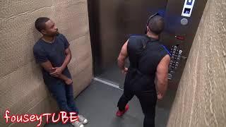 приколы в лифте