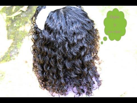 Cuidado del cabello rizado; Como definirlo/Rutina. Enseñandole a las niñas a cuidar su cabello.
