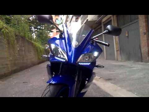 Yzf R125 Mods Yamaha Yzf R125 Blu/blue 2011