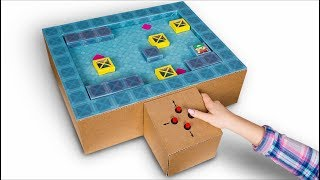 How To Make A Sokoban Game From Cardboard