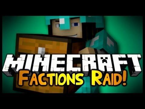 Minecraft Factions Raid w/