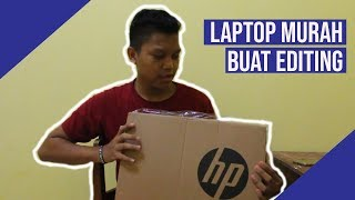 Laptop Murah Untuk Edit Video dan Gaming ~ HP 14 BW511AU