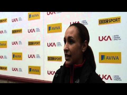 Aviva 2012 Trials - Jess Ennis Long Jump Women's Final