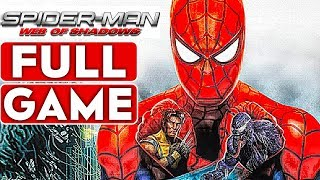 SPIDER-MAN WEB OF SHADOWS Gameplay Walkthrough Part 1 FULL GAME [1080p HD 60FPS PC] - No Commentary