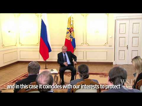 Vladimir Putin Comments on Use of Force in Ukraine