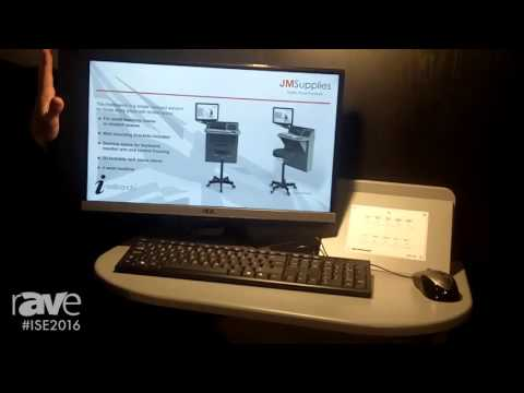 ISE 2016: JM Supplies Showcases Intellibench Wall-Mounted Lectern