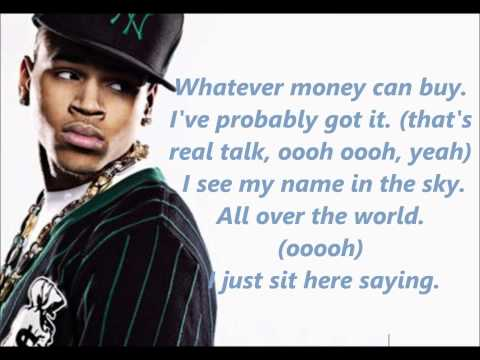 Chris Brown - Lucky Me lyrics.wmv