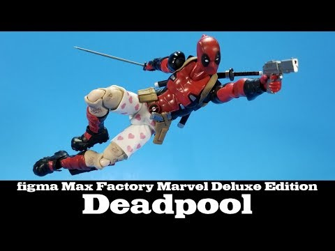 figma Deadpool Deluxe Edition Marvel Max Factory