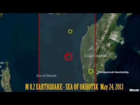 M 8.3 EARTHQUAKE - SEA OF OKHOTSK May 24, 2013