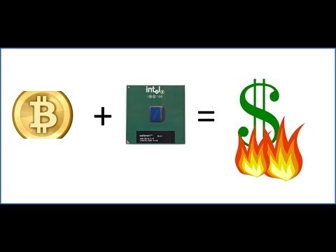 Bitcoin Mining on Old Hardware; The Intel Celeron Coppermine CPU 900MHz