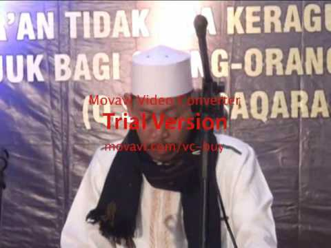WONDERFUULL..... KH. HAWASYI NAWAWI. DI MAJLIS TALIM AL KHAIRIYAH . MPH1. INDONESIA. 03.11.2016