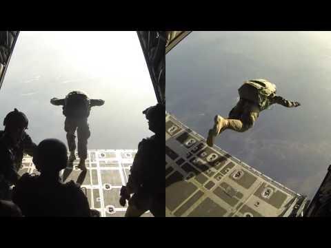 Сбрасывание 130 бригада НАТО NATO