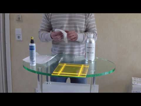 how to make an acrylic box in 5 minutes acrylglas kasten kleben ibowbow. Black Bedroom Furniture Sets. Home Design Ideas